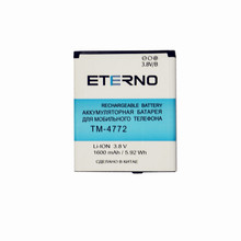Eterno Battery for texet TM 4772 tm4772 4772 Phone Electronic Rechargeable Battery 1600mAh Replacement Inner Batteries