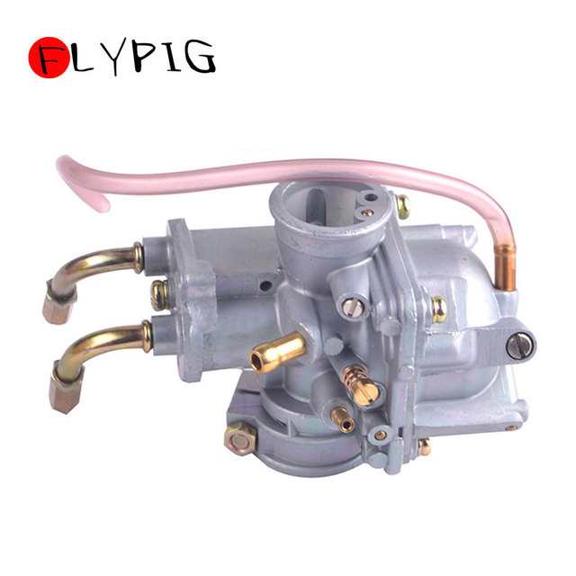 US $17 85 9% OFF|Carburetor for YAMAHA QT 50 QT50 Yamahopper 1983 1984 1985  1986 Moped Motorcycle Dirt Bike Accessories D10-in Carburetor from