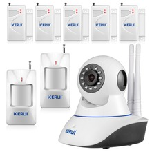 Wireless 720P IP Security Camera WiFi IP Camera Baby Monitor home store care HD Camera  Home Alarm System Smoke Gas Detector