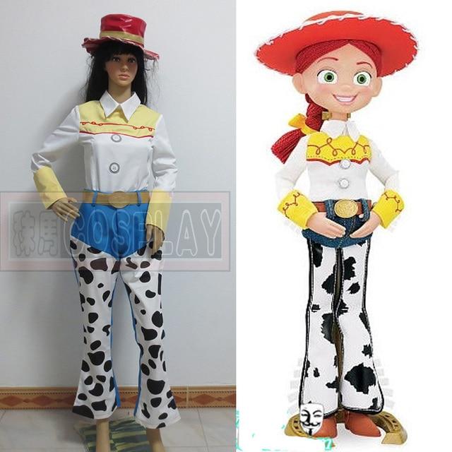 Jessie Toy Story traje Cosplay cualquier tamaño en de en