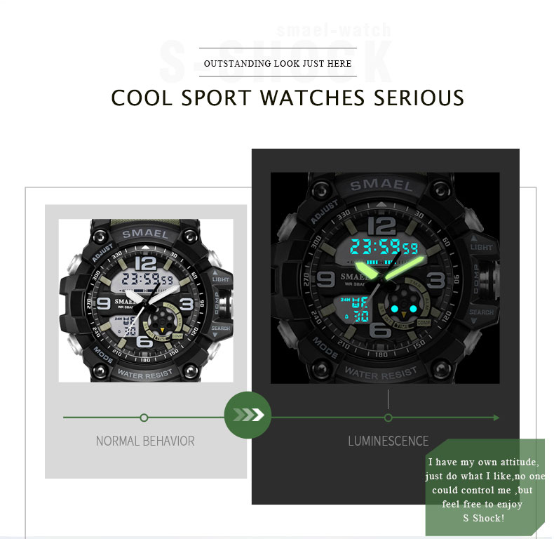 3 sport watch black