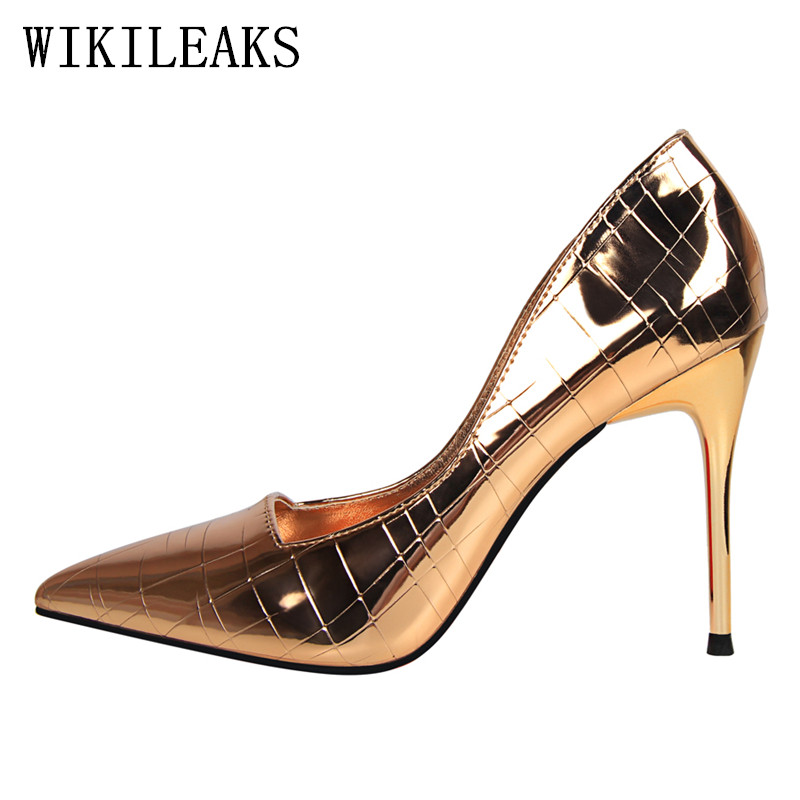 sexy patent leather red high heels shoes woman pumps bigtree shoes designer luxury brand fetish high heels zapatos mujer tacon silver patent leather sexy ballet heels fetish shoes high heels pumps silver heels ladies party shoes 2017 ballet dance shoes