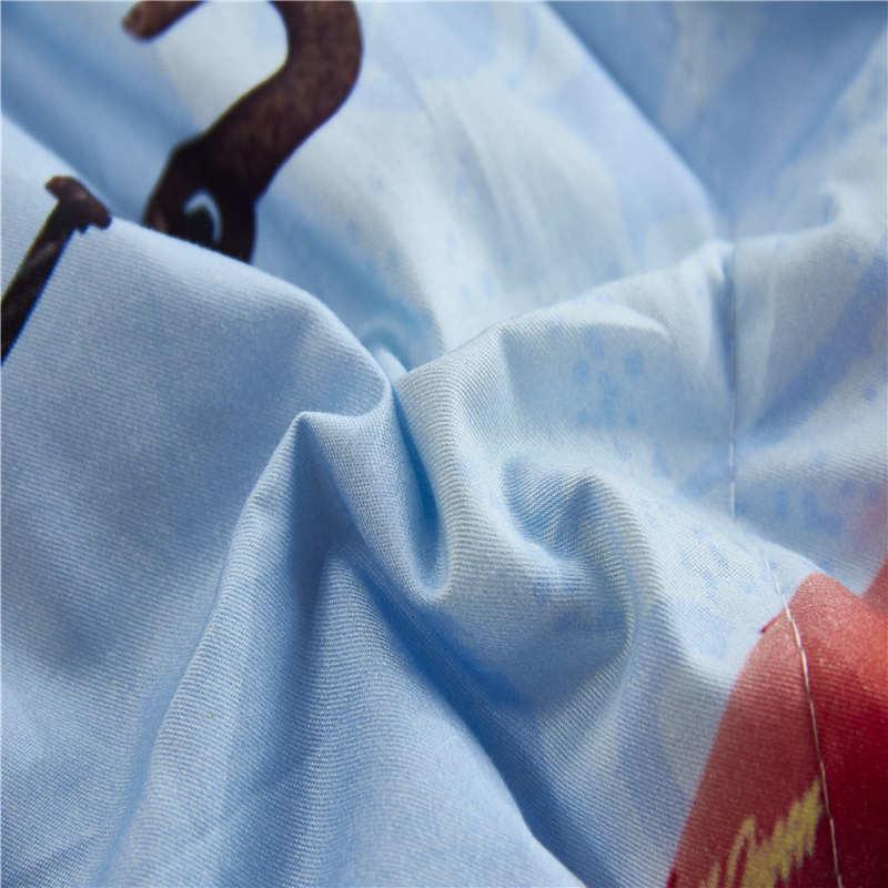 Disney Autêntica McQueen Cobertor Edredons Lençóis de Algodão Abrange Crianças Do Bebê das Crianças Quarto Decoração 150*200 cm e 200*230 cm - 5