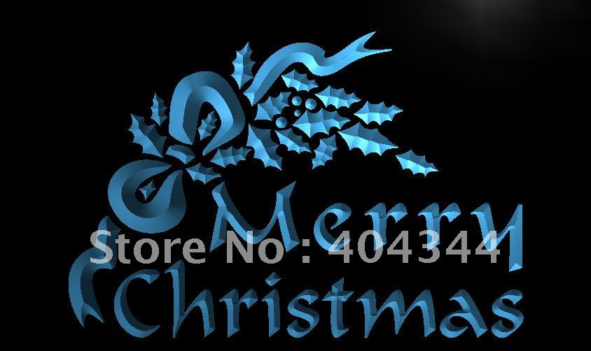LK038- Merry Christmas Tree Decor LED Neon Light Sign home decor  crafts(China) - Compare Prices On Merry Christmas Sign Lighted- Online Shopping