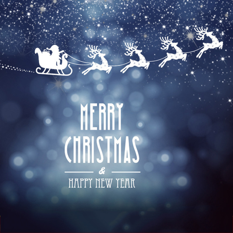 Christmas Decorative Window Stickers 2