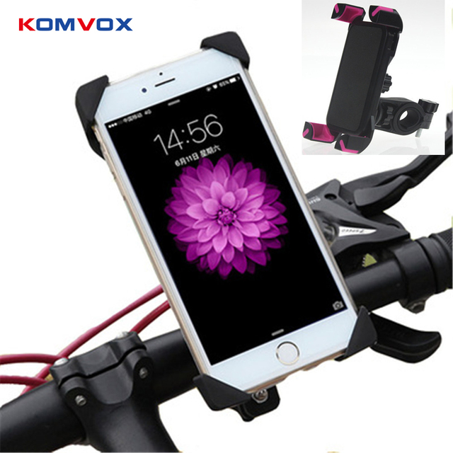 Iphone Holder For Bike >> Universal Bicycle Phone Holder Handlebar Clip Stand For Iphone 8 7 5 Se Mount Bracket Bike Phone Holder For Samsung S8 S7 S9 In Mobile Phone Holders