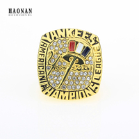 2003 New York Yankees World Series American League Baseball Customized Sports Replica Fans Championship Ring For