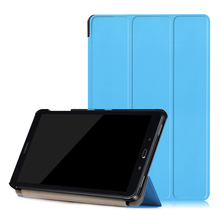 """case for Samsung Galaxy Tab A 10.1 with S Pen P580 P580N P585N P585Y 10.1"""" inch Tri three Folding Stand Case for Samsung Pill PC"""