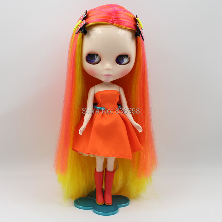 Candy Crush Long Long Hair Nude Blyth Doll Suitable For DIY Change BJD Toy For Girls цена