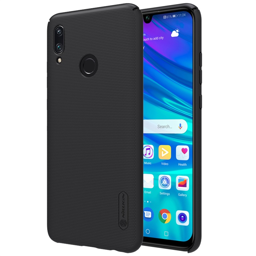 Huawei P Smart 2019 case Huawei P Smart 2019 6.21 inch cover NILLKIN Super Frosted Shield matte hard back cover + gift