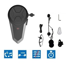 Original BT-S3 Bluetooth Interphone Moto Helmet Intercom Wireless Waterproof intercomunicador capacete Headset FM
