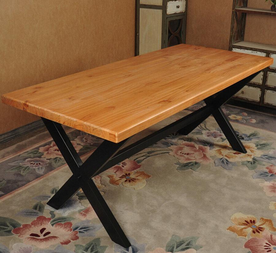 Como construir una mesa de madera free una superficie slida har tu mesa duradera with como Como hacer una mesa de madera rustica