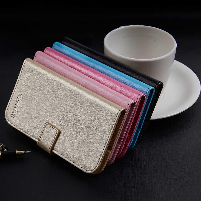 Voor Prestigio MUZE G3 LTE PSP3511DUO Zakelijke Telefoon case Wallet Leather Stand Beschermhoes met Card Slot