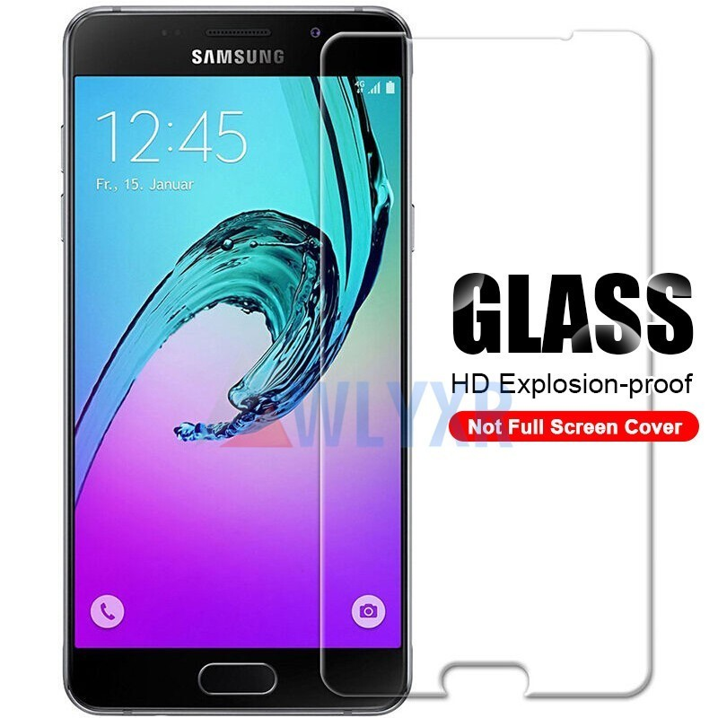 Protective Glass on the For Samsung Galaxy A 10 20 30 40 50 60 70 J 3 5 7 A6 J4 J2 Core Pro Tempered Screen Protector Glass Film in Phone Screen Protectors from Cellphones Telecommunications