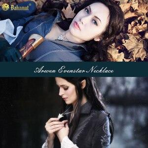 Image 5 - Princesa arwen evenstar pingente colares para mulher arwen cristal colar hobbit s925 sliver casamento jóias presente
