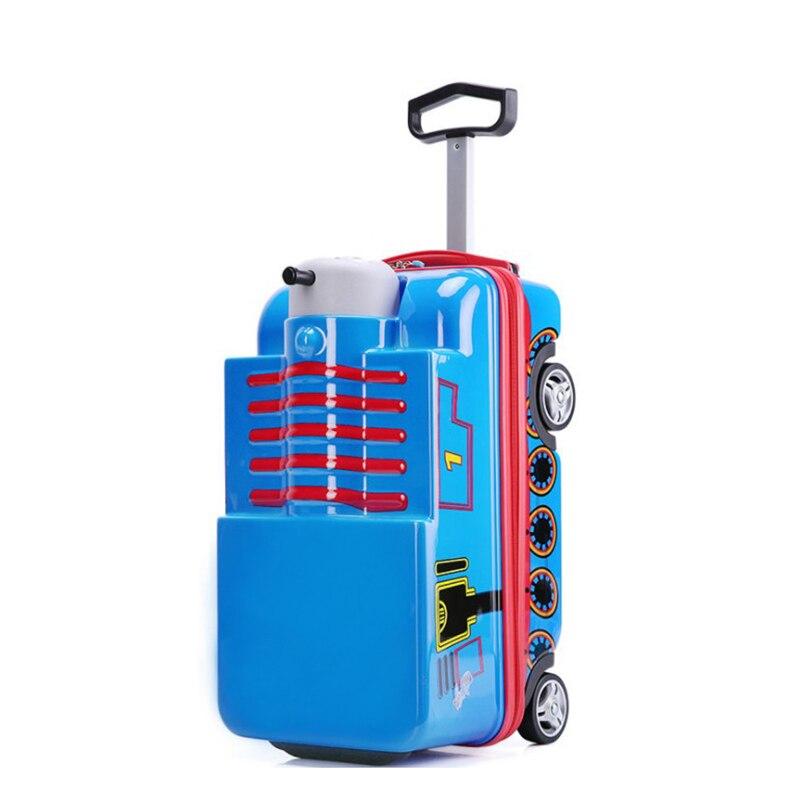 De cuento de niños cabaña maleta en PC ABS juguete caja de viajes bolsa para los niños-in De mano from Maletas y bolsas    3