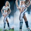 2016 Лучших Дизайн-Новый 3D Печать Эластичные Спортивные Леггинсы, 22 Цвета Quick Dry Sexy Тощая Нога Фитнес-Тренировки Одежда для Женщин