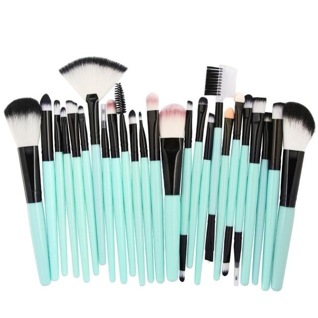 MAANGE 25 Pcs Makeup Brush Kits Face Foundation Power Blush Eyebrow Lips Make Up Brushes Set pincel maquiagem 4
