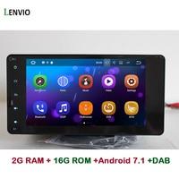 Lenvio 2G RAM Android 7.1 CAR DVD Radio GPS Navigation For Mitsubishi Pajero V93 V97 Outlander 2012 2015 Sport L200 2015 2016