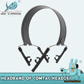 Z-TAC taktyczne strzelanie słuchawki opaska na głowę opaska na głowę uchwyt do Peltor Comtac II III Series taktyczne akcesoria do zestawu słuchawkowego tanie i dobre opinie Black COMTAC I COMTAC II COMTAC iii Suitable for COMTAC Series Headset