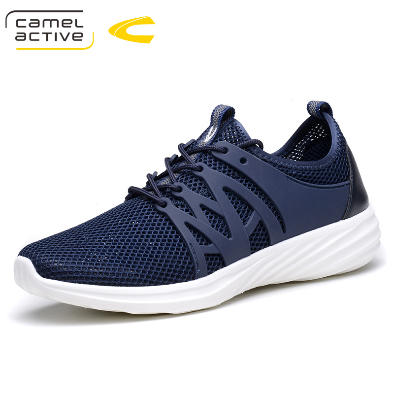 Camel Active Brand 2018 New Summer Mesh (Air mesh) Men Breathable Loafers Black Shoes Lightweight Fashion Men Casual Shoes 18055 active mesh tracksuit in black