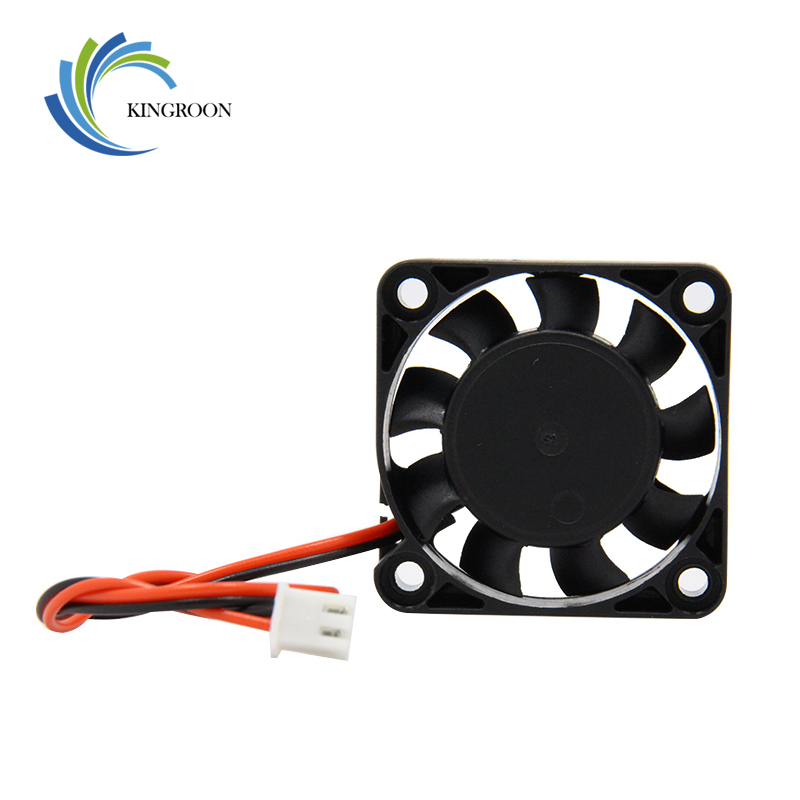 <font><b>4010</b></font> Cooling Fan 12V 24V 2 Pin with Dupont Wire <font><b>Brushless</b></font> 40*40*10 Cool Fans Part Quiet DC 40m Cooler Radiato 3D Printers Parts image