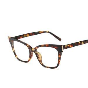 Image 3 - حار النساء نظارات القراءة الرجعية صندوق كبير مربع القط الإناث أزياء النظارات البصرية الإطار عالية الجودة نظارات القراءة NX
