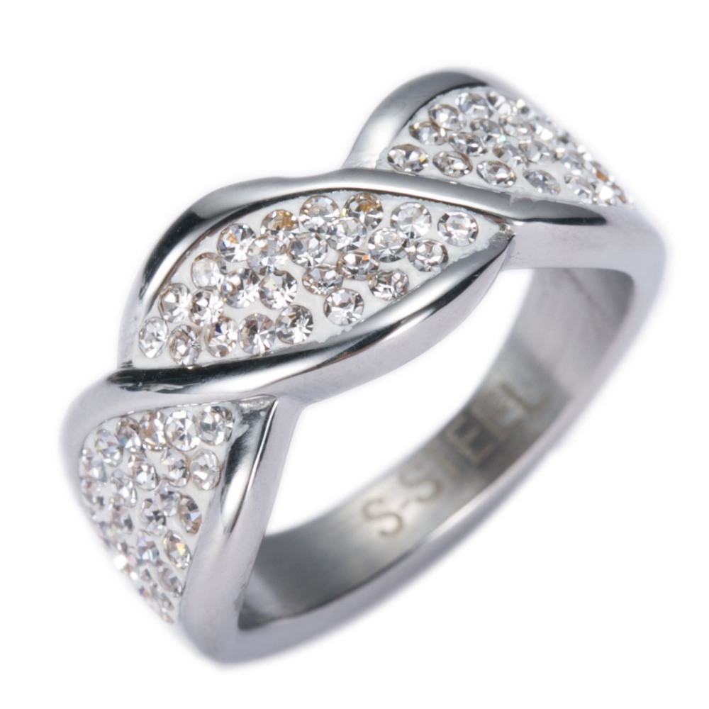 cocktail height design right double hand plated beautiful rings cz pave sterling rhodium leaf silver setting ring engagement accent