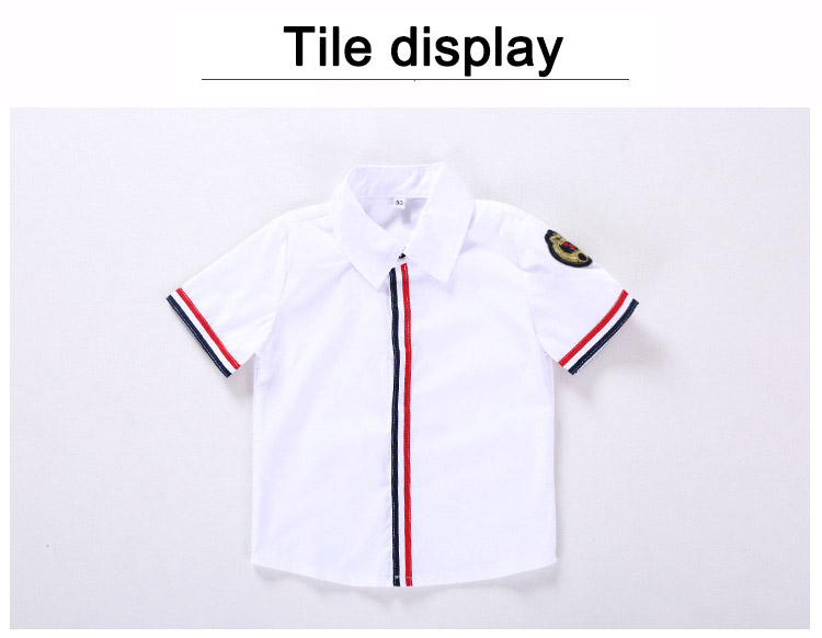 803806ba7d8d Casual Baby Boy Clothes Italy Style Striped Decorated Shirt+Ripped Red  Shorts 2 pcs Kids Clothing Set Toddler Boys Summer Outfit-in Clothing Sets  from ...