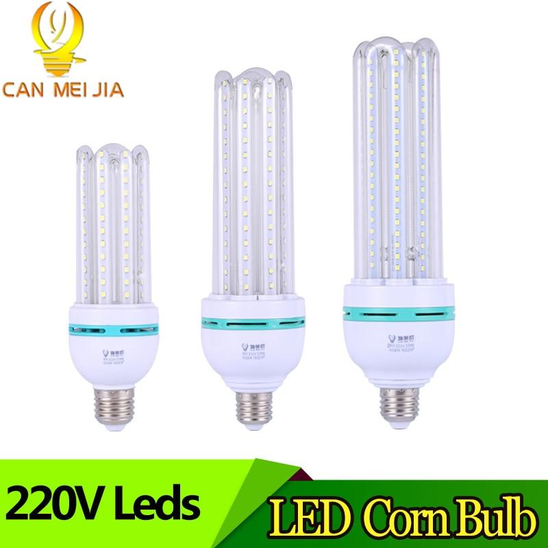 E27 LED Corn Bulb Lamp 3W 5W 7W 9W 12W 18W 24W 32W Energy Saving Bombillas Led Lights for Chandelier Home Lighting AC220V 240V цена 2017
