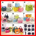 (100/pcs) 17 styles available wholeslae insulated thermal cooler picnic lunch bags