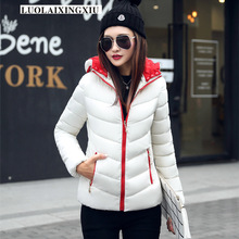 Fashion winter down jackets women Female thickening Warm Hood Over Coat warm clothes M L XL XXL