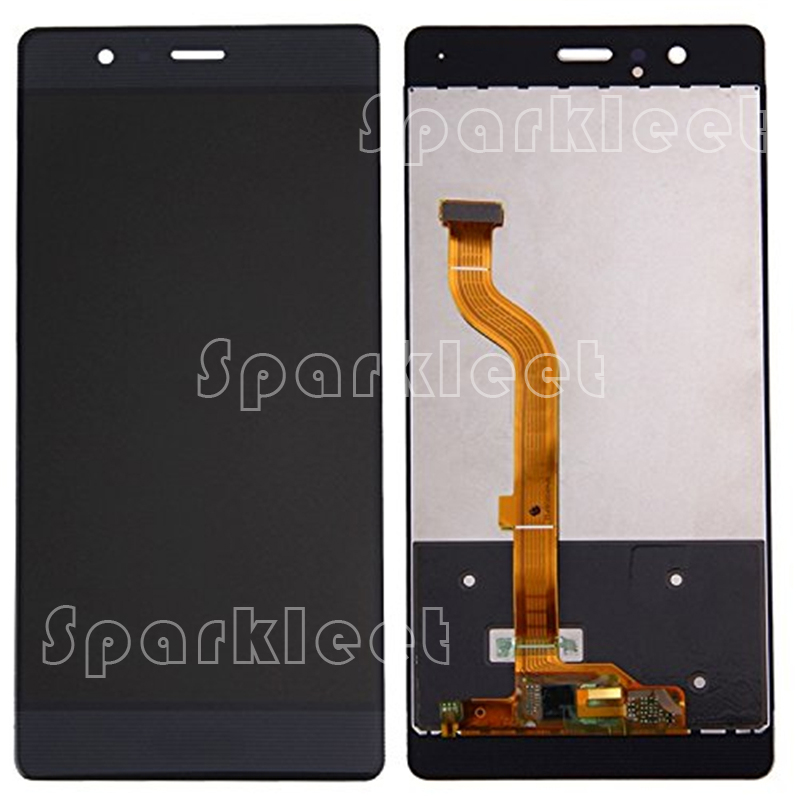 B/W/G 5.2 LCD Screen For Huawei P9 LCD Display Touch Screen Digitizer Assembly For Huawei Cell Phone Repair Parts Free Shipping