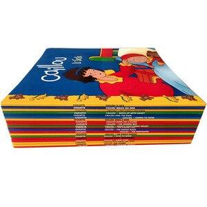 Image 2 - Neue 20 bücher/set Caillou Klassische Nordamerikanischen bildung eltern kind lesen bild buch Englisch geschichte buch für kinder geschenk