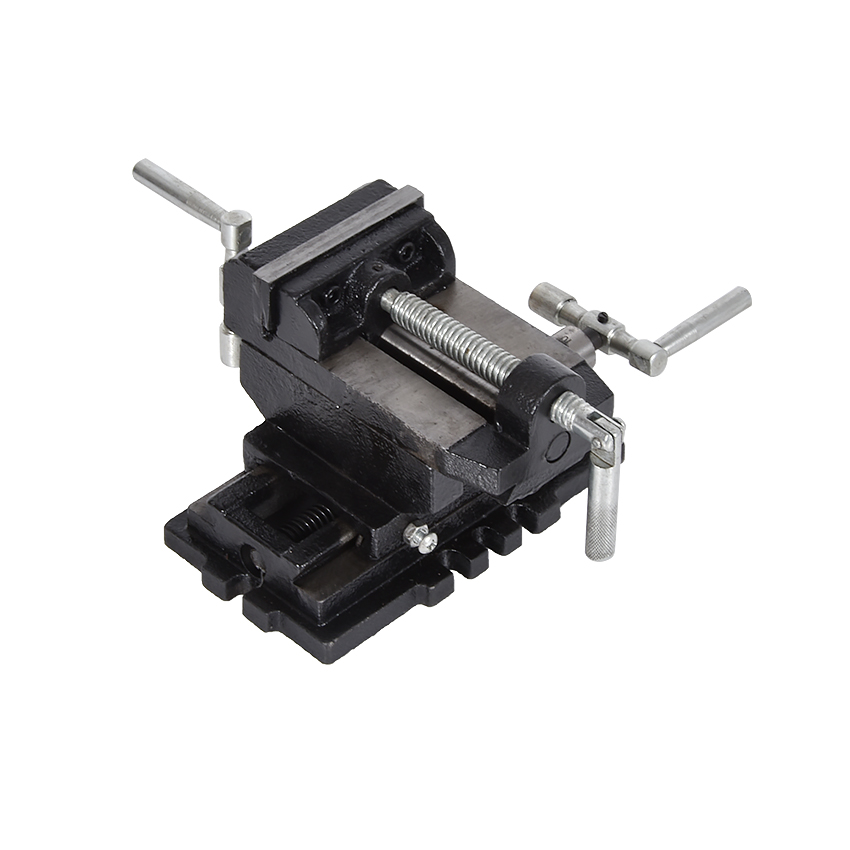 New Arrival Portable 3 Inch Cross Vise Bench Vise Hot Sale, Worked With Milling Machines To Tighten Wood, Metal, Plastic, etc.