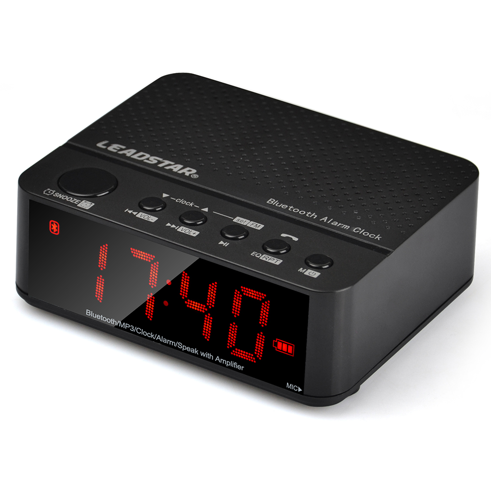 Online get cheap alarm clock radio for Reloj digital de mesa