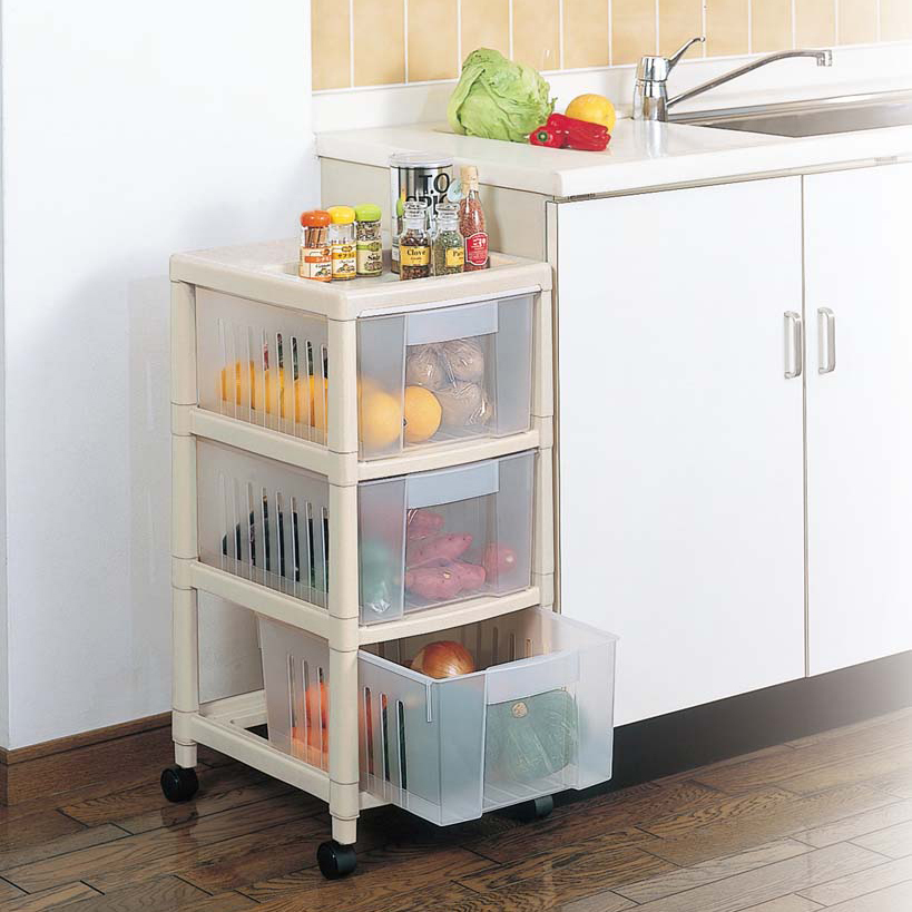 Freeshipping Glove Storage Rack Plastic Fruit And