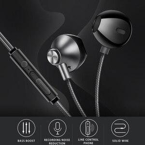 Image 5 - KISSCASE intrauditivos auriculares con micrófono para teléfonos iPhone, Xiaomi, mi, Samsung y Huawei