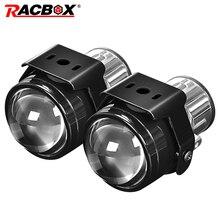 2.5 inchs Fog Lights Led Headlight Lamp bixenon projector lens bi led headlamp for Car off road 12 24V waterproof work light