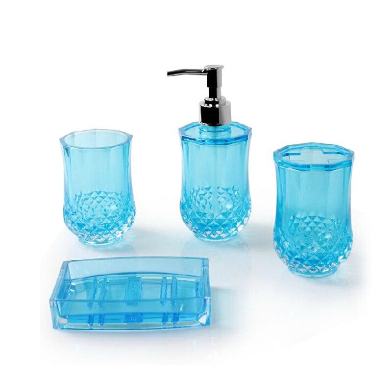 Autom tico accesorios de ba o de pl stico de ba o banheiro for Conjunto accesorios para bano