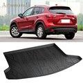 Автомобильные аксессуары подходят для Mazda CX-5 CX5 2012-2016 водонепроницаемый нескользящий протектор TPO с учетом багажника загрузки грузовой ковр...