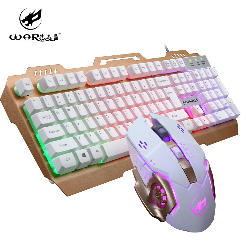 Mac New 11 Kinds Of Choice Competitive Level Keyboard And USB Mechanics Game Mouse Cake Gift
