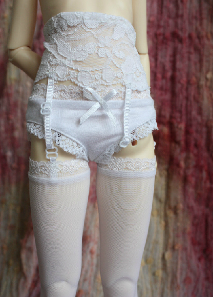 white / black Sexy Tight Stockings  Garter belt for 1/3 1/4 BJD doll женские чулки no womens stockings