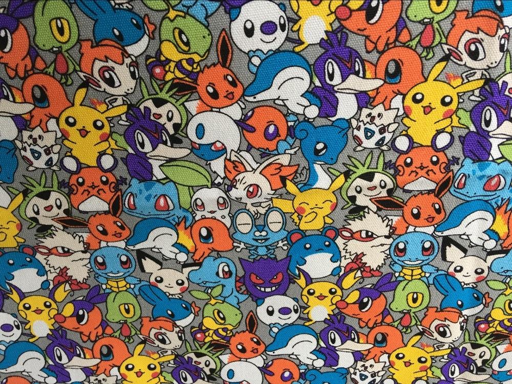 "4/"" Pokemon ANIME Wall Safe Tissu Autocollant Coupe personnage"