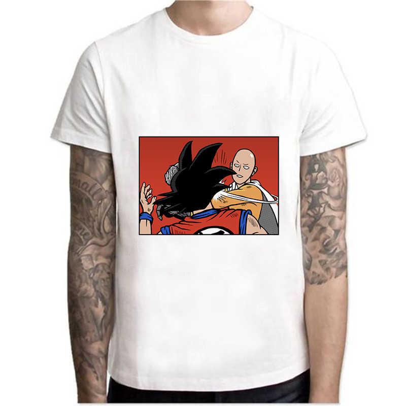 2109 летняя футболка с рисунком дракона, шара, комиксов, юных персонажей, модная забавная футболка унисекс с принтом, футболка с круглым вырезом, белая, harajuku