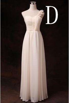 Новое поступление Формальные подружек невесты женские летние скромные платья подружек невесты Одежда с рукавами для свадебной вечеринки длинные H2743 - Цвет: D