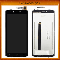 For Doogee S55 LCD Display+Touch Screen 100% Tested OK LCD Digitizer Glass Panel Replacement Assembly For Doogee S 55 LCD