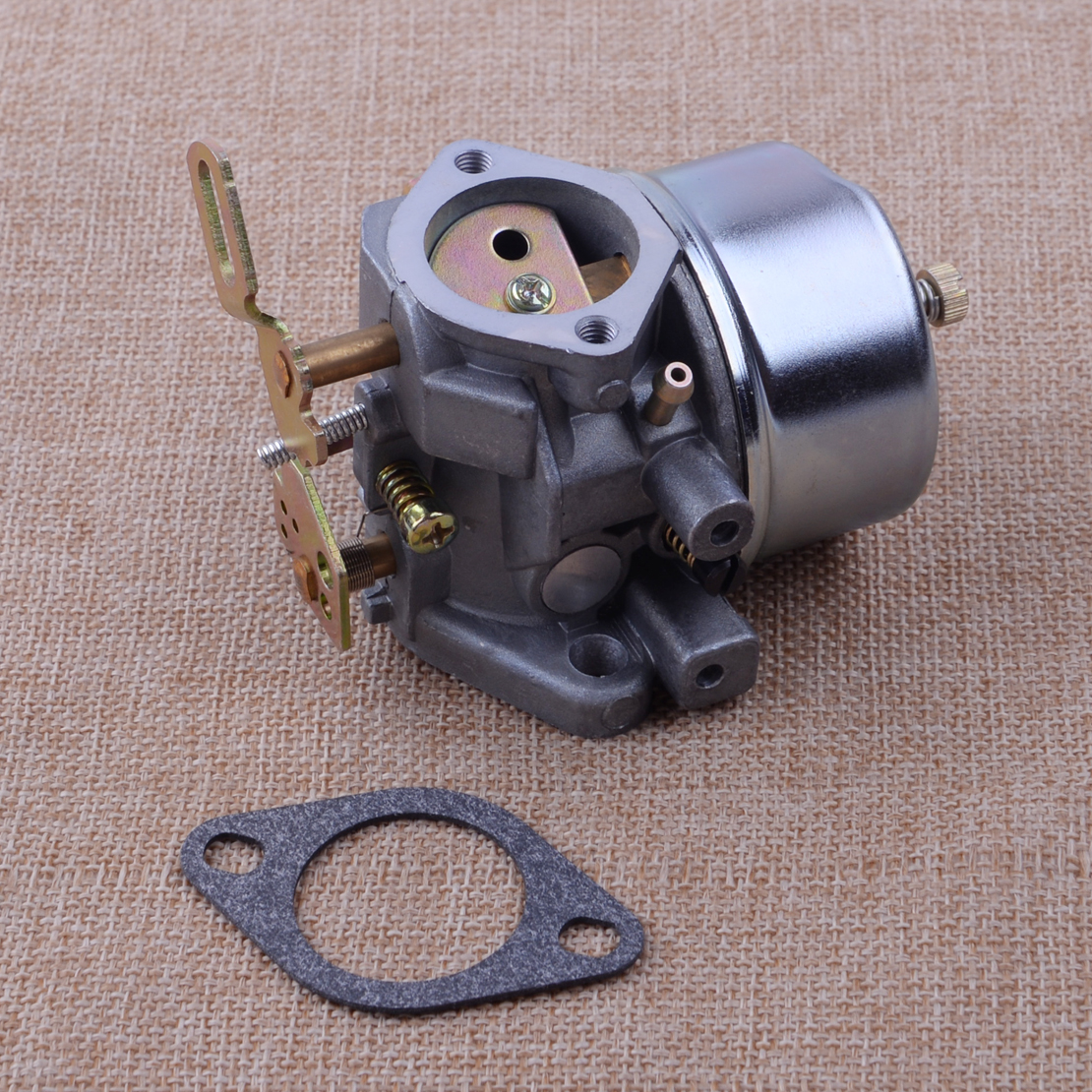 LETAOSK Silver Steel Carburetor Carb Fit For Tecumseh 632111 632334A HM70 HM80 HMSK80 HMSK90 Engines