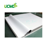 Flexible Magnetic Labels With Gloss White Board Dry Wipe Surface Magnetic Board Magnetic Sheet 60 X