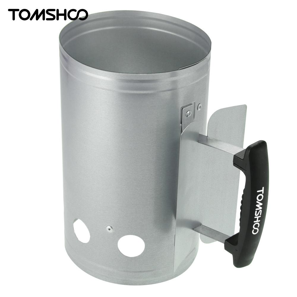 Aliexpress Com Buy Tomshoo Bbq Chimney Starter Charcoal